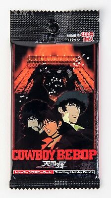 COWBOY BEBOP TRADING CARDS MOVIE Edition NEW SEALED HOBBY JAPAN SUNRISE 2002