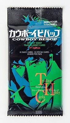COWBOY BEBOP TRADING CARDS  TV Edition NEW SEALED HOBBY JAPAN SUNRISE 2002
