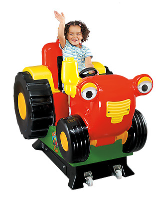 Coin operated Tractor Tom kiddy ride