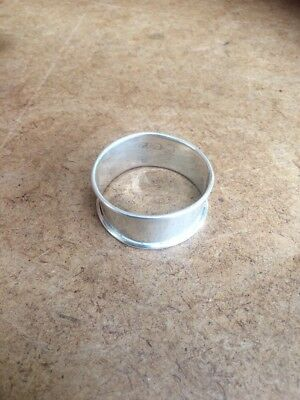 Vintage Stirling Silver Napkin Ring c1924