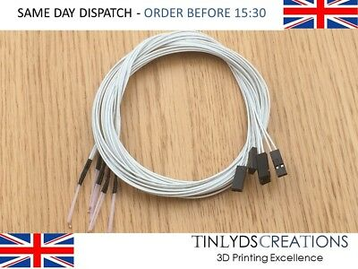 100K Ohm 3950 1% NTC Thermistor Temperature Sensor 3D Printer Reprap Hot End
