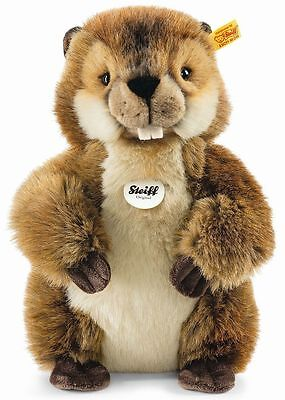 Steiff 'nagy' Beaver 071065 Soft Toy *new With Tags*