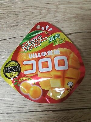 UHA KORORO MANGO Super Soft Gummy Candy JAPAN Jelly Gummi free shipping