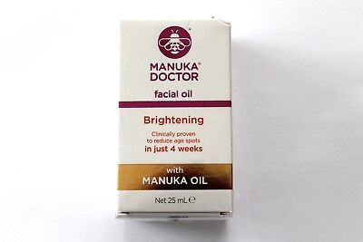 Manuka Doctor Facial Oil - Brightening With Manuka Oil - 25ml