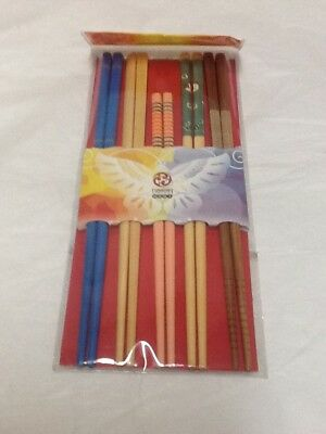5 Pair Chopsticks Yunhong New in Package