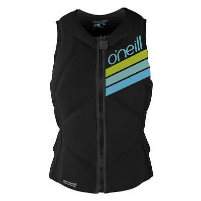 ONeill Womens Slasher Comp Impact Vest Black Oneill Ski Vests/ Jackets
