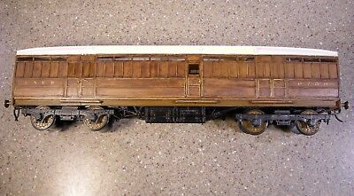 O Gauge Kit Built LNER Full Brake Coach