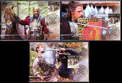 2017 Ukraine Set Maximum Card Stronghold Guard Post Film Art Artists Knights 268