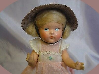 Vogue Strung Toddles 1947-49 Painted Eye Blonde DOLL PRECIOUS