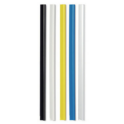 Durable A4 Black 6mm Spinebars (Pack of 50) 2931/01