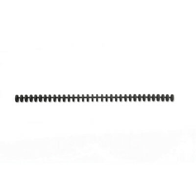 GBC Black ClickBind Binding A4 Spines 16mm (Pack of 50) 387357E