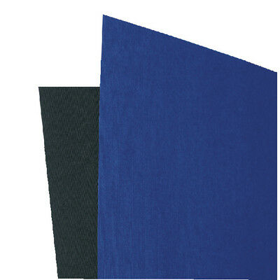 GBC LinenWeave Binding Covers 250gsm A4 Black (Pack of 100) CE050010