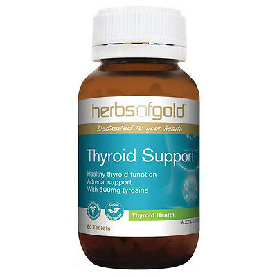 2 x 60 tablets Herbs of Gold Thyroid Support 120 tablets