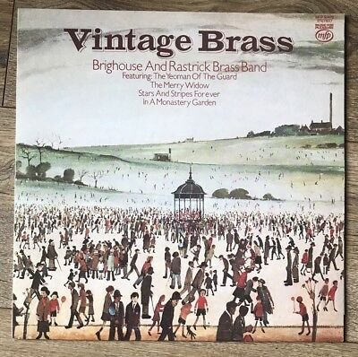 Brighouse And Rastrick Brass Band- Vintage Brass- Vinyl Record