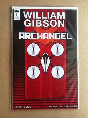 ARCHANGEL #1 SUB COVER C by JAMES BIGGIE IDW WILLIAM GIBSON NM 1ST PRINTING 2016