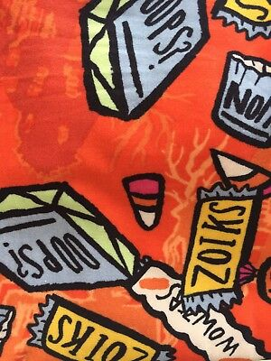NWT LuLaRoe Halloween Candy/Bars Leggings for Kids S/M!