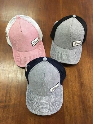Titleist West Coast Oxford Lot Of 3 Fitted Hats Size S/M NWT NR $90 Retail Pro V