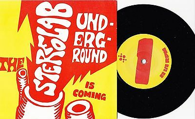 """Stereolab - The Underground Is Coming EP EX+ 7"""" Inch Rare Tour Only"""