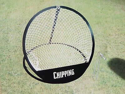 Portable 50Cm Golf Chipping Net, Outdoor & Indoor Training Aid