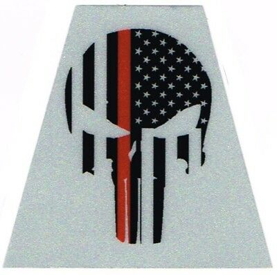 Tetrahedron Decal - Red Line Punisher