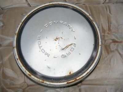 "70's FORD Dog Dish Hubcap its for a 15"" wheel"
