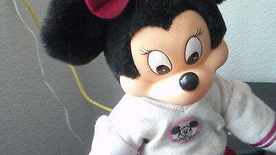 """Vintage Mickey  Mouse Club, Minnie Mouse 10"""" Doll"""