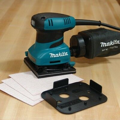 Makita Bo4556 Clamp Finishing Palm Sander Inc Dustbag 110V