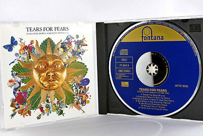 Tears for fears Tears roll down Greatest hits 82-92 Germany club pres cd no ifpi