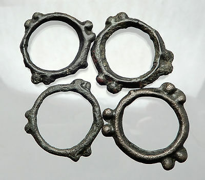 Celtic Danube Eastern Europe 6-2CenBC Ring Wheel Money 4 Pieces as Coin  i64452