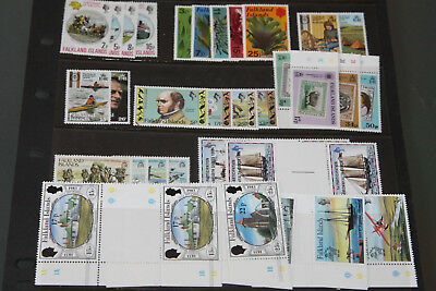 Falkland Islands - Unmounted Mint Collection In Stocksheet