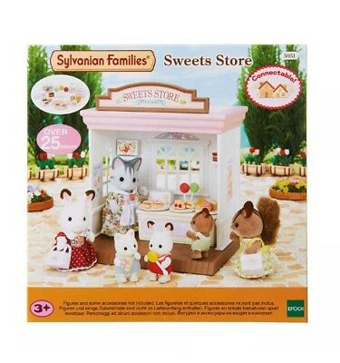 Sylvanian Families Sweet Shop Food & Shop Theme 5051