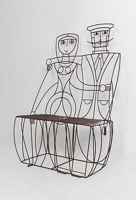John Risley 'Couple' Bench, 1960s