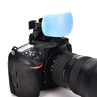 3 Color 3 in 1 Pop-Up Flash Diffuser Cover Kit Softbox for Canon Nikon Pentax C+