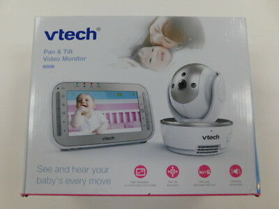 VTech Monitors VM343 Safe Sound Video Baby With Night Vision, Pan/Tilt/Zoom And
