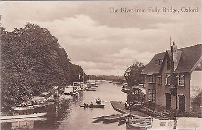 The River From Folly Bridge, OXFORD, Oxfordshire