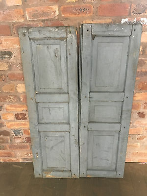 Vintage Shabby Chic French Window Shutters