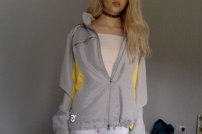 Movement Womens Jacket Size Small. Grey And Yellow