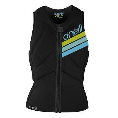 ONeill Womens Slasher Comp Kite Vest Black Oneill Ski Vests/ Jackets