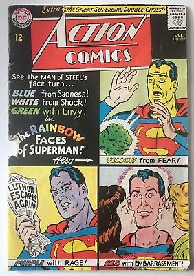 Action Comics #317 PR/Supergirl/Superman/Binder/Plastino/DC/1964