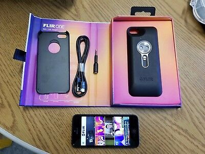 Flir One thermal Imaging Camera with IPhone 5