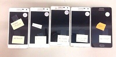 5 Lot Samsung Galaxy A5 Locked GSM For Parts Repair Used No Power Wholesale