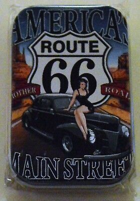 Route 66 Vintage Tobacco Tin Main Street