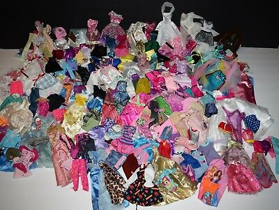 HUGE LARGE 250+ Lot Of Barbie and other 11 1/2 Fashion Doll Clothes Clothing
