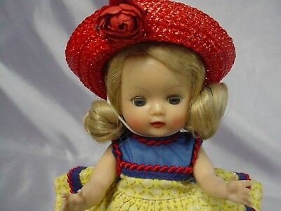 Nancy Ann Storybook Blonde Muffie MLW Doll GORGEOUS