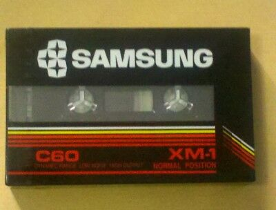 cassette tape vintage rare:  Samsung new and sealed
