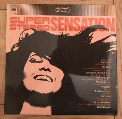 Super Stereo Sensation- Vinyl Record
