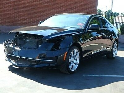 2016 Cadillac ATS 2.5L Sedan 2016 Cadillac ATS 2.5L Sedan Damaged Salvage Only 13K Mi Perfect Project L@@K!