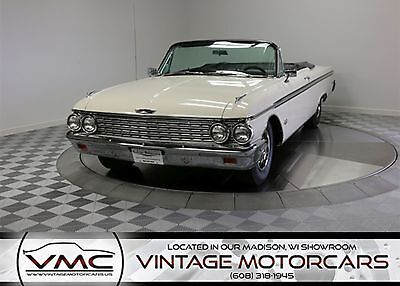 1962 Ford Galaxie  Loaded Power Options! - Convertible -  Cruise O Matic Trans - 390ci V8