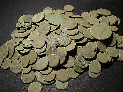 15 Quality Uncleaned Roman coins - 100% authentic- Best eBay price !!!!
