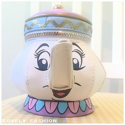 Brand New Beauty And The Beast Mrs Potts Purse Primark Disney Teapot Character